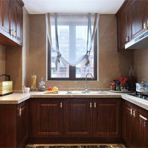 大户型新古典风格厨房装修效果图