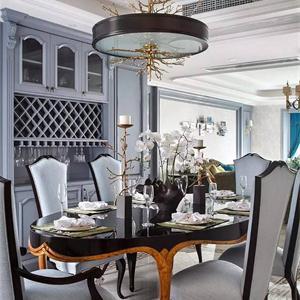新古典三居室餐厅装修效果图