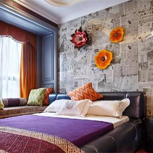 复式地中海异域风情风格卧室装修效果图
