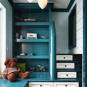 95平地中海风格儿童房装修效果图