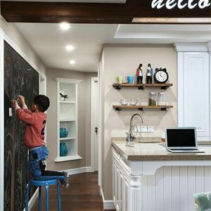 三居室地中海风格厨房装修效果图