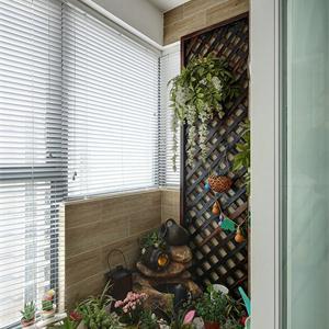 欧式风格别墅阳台一角装修效果图