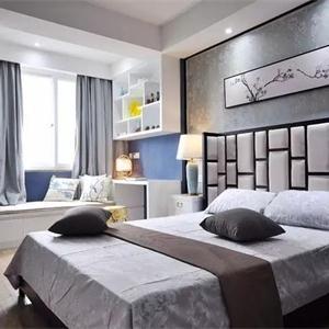50㎡单身公寓装修设计 新中式的小户型