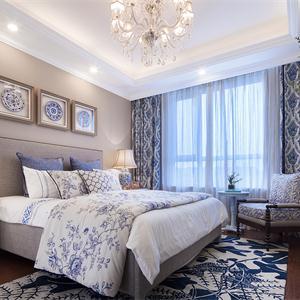 125㎡北欧风格卧室装修效果图