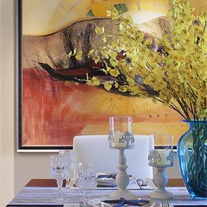 簡約風格四居室餐廳裝修效果圖