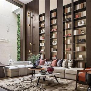 豪华中式别墅装修——272㎡最美中式别墅 轻奢中国风