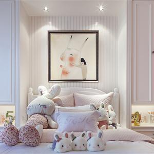 新古典欧式风格儿童房装修效果图