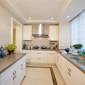 新古典歐式風格廚房裝修效果圖
