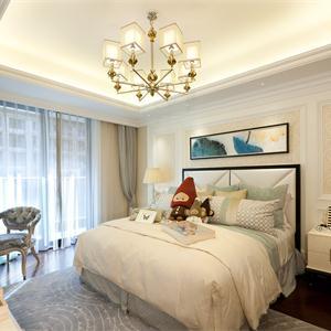 三居室欧式新风格风格卧室装修效果图