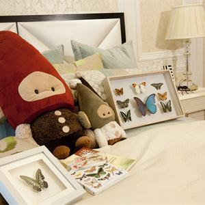 欧式风格三居室儿童房装修效果图