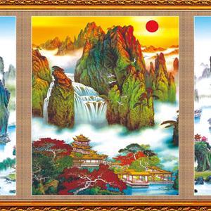 中堂画一般挂什么好?常见的中堂画种类有哪几种?