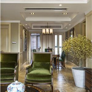 美式風格四居室客廳裝修效果圖