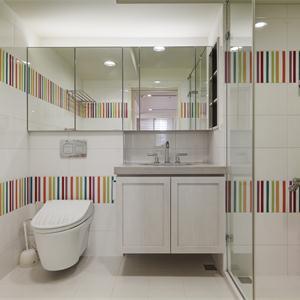 簡約風格二居室衛生間裝修效果圖