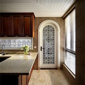 134㎡美式風格廚房裝修效果圖