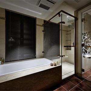三居室美式風格衛生間裝修效果圖