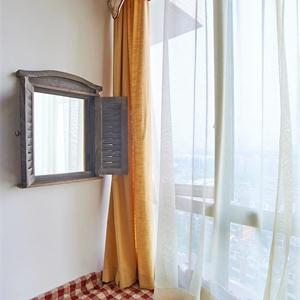 大户型美式风格卧室飘窗装修效果图