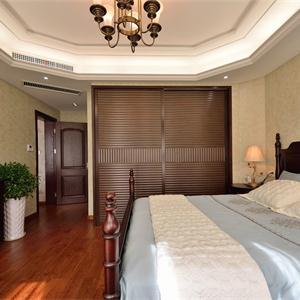 大户型美式混搭卧室装修效果图