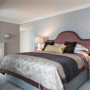 仁恒公园世纪110㎡北欧风格卧室装修效果图