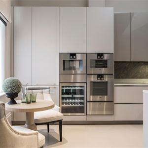 簡約北歐風格廚房櫥柜設計
