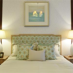 地中海美式混搭卧室装修效果图