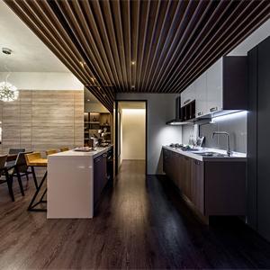 120平米現代簡約風格餐廳裝修設計圖