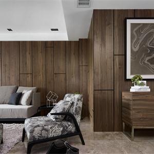 大戶型現代簡約客廳裝修效果圖