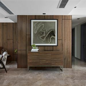 現代簡約樣板間客廳裝修效果圖