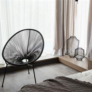 现代简约样板间卧室装修效果图