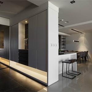 現代簡約風格客廳裝修效果圖