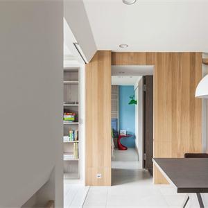蘇州唐寧府復式簡約裝修餐廳設計圖