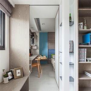 金地名悅現代簡約裝修兒童房效果圖
