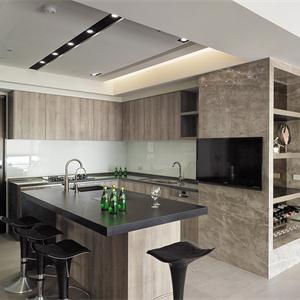 首开如院现代简约装修厨房设计图