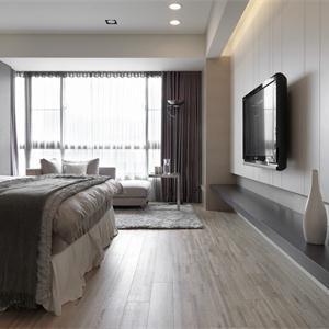 現代自然簡約臥室裝修圖
