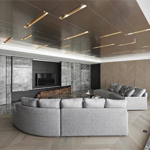現代簡約裝修客廳效果圖