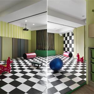 儿童房儿童游戏房装修效果图