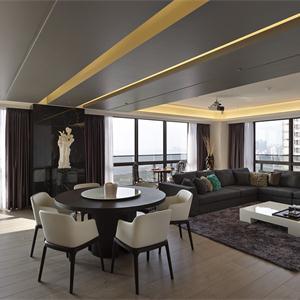 简洁现代客厅装饰设计
