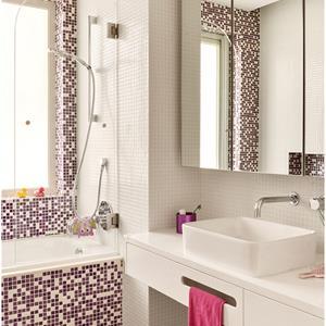 混搭潮流三居室卫生间装修效果图
