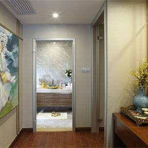 现代简约风格卫生间走廊效果图