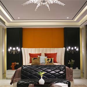 128平潮流混搭卧室装修效果图