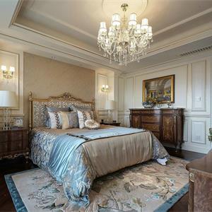 110平米歐式風格臥室裝修效果圖