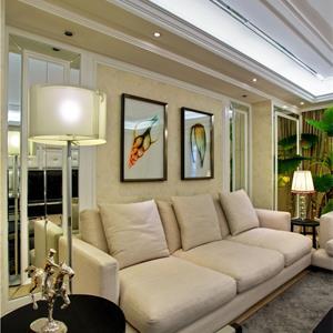 小户型欧式风格装修客厅效果图