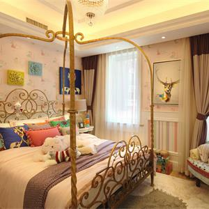 欧式风格三居儿童房装修效果图
