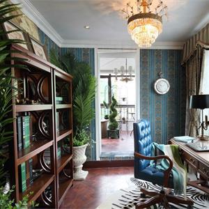 古典欧式风格书房装修效果图