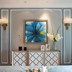 古典欧式风格卧室装修图
