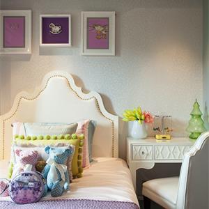 欧式风格别墅儿童房装修卧室设计图