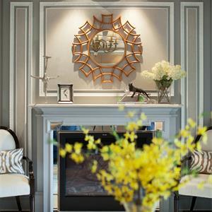 浪漫欧式风格客厅欣赏