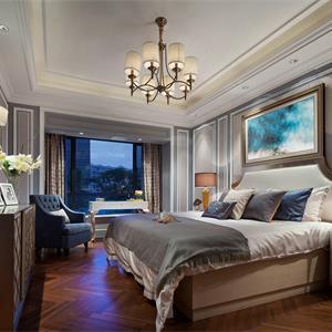 132平米欧式风格客厅装修效果图