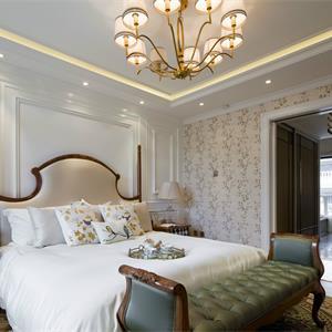 欧式风格别墅卧室装修效果图