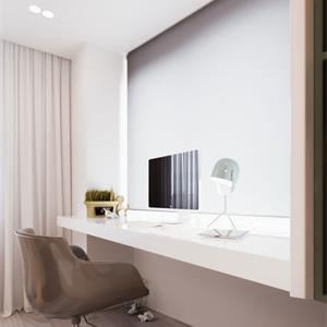 法式简约风卧室是梳妆台装饰效果图