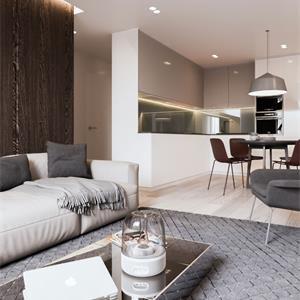 北欧风格四居客厅装修效果图